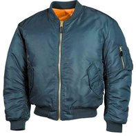 MA1 Bomber jacket the US pilots jacket alpha-blue