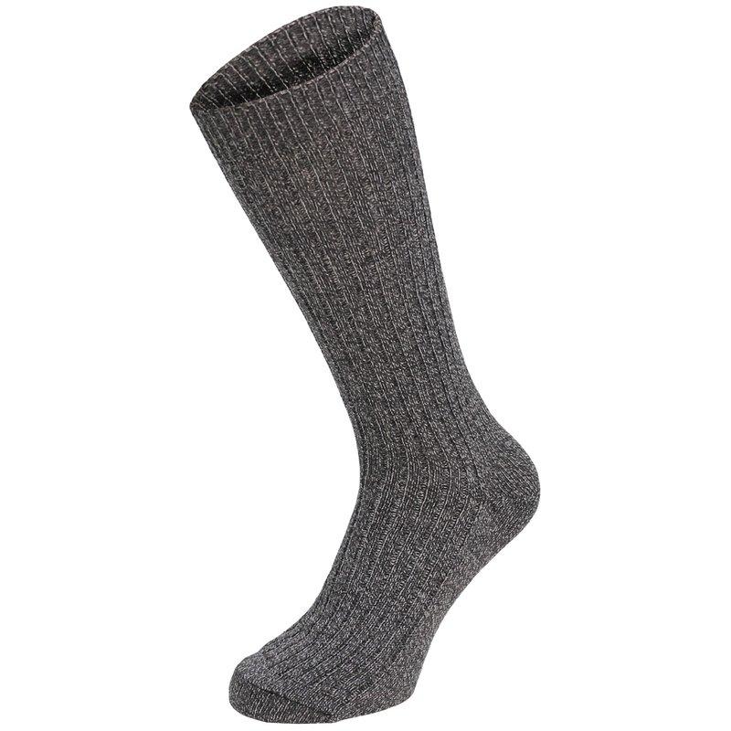 BW Socken, Keilferse, grau