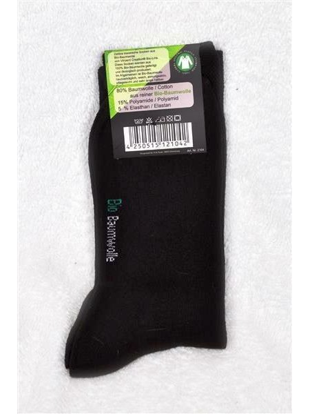 Business Herren Bio-Baumwollsocken