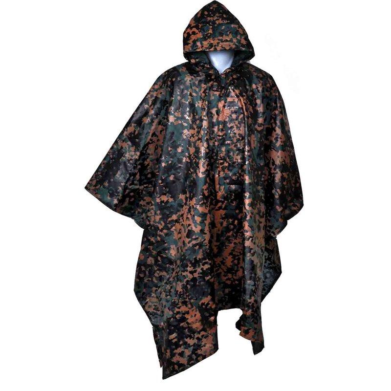 Rain poncho multicamouflage flecktarn, 13,54