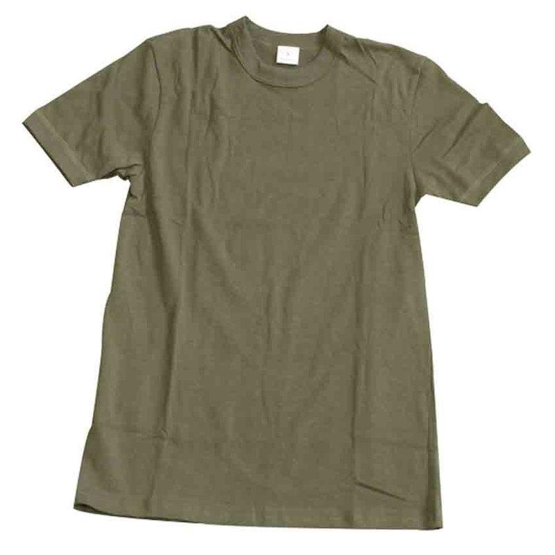 69284976b4b3f3 Bundeswehr Unterhemd T-Shirt Oliv
