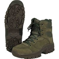 Boot Commando ankle high Olive 44