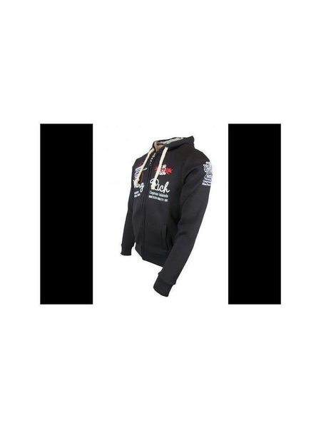 Young & Rich Sweatjacke Black L