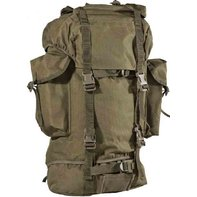 BW combat backpack about 65 liters of olive