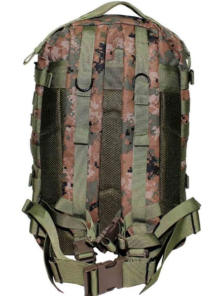 US Rucksack Assault II Digital Woodland ca. 40 L