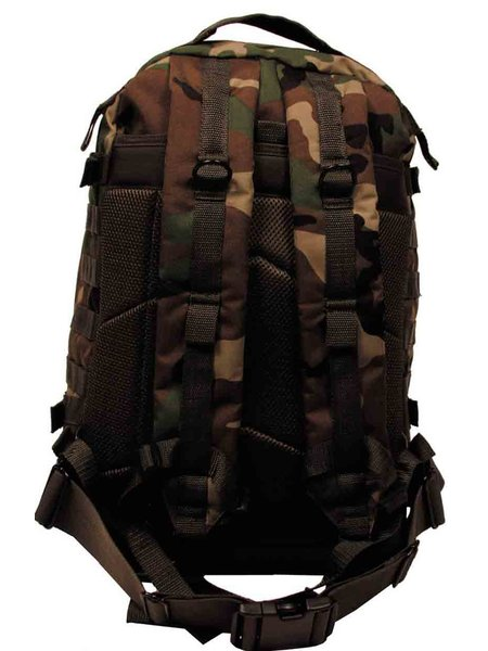 US Rucksack Assault II Woodland ca. 40 L