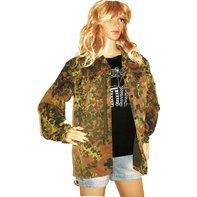 Military Army Camouflage Jacke Bundeswehr Blogger Hipster...