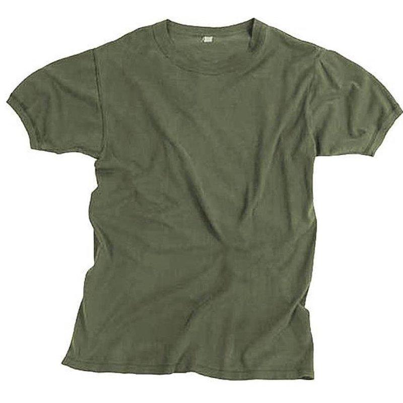 original bundeswehr feldhemd unterhemd t shirt bw oliv. Black Bedroom Furniture Sets. Home Design Ideas