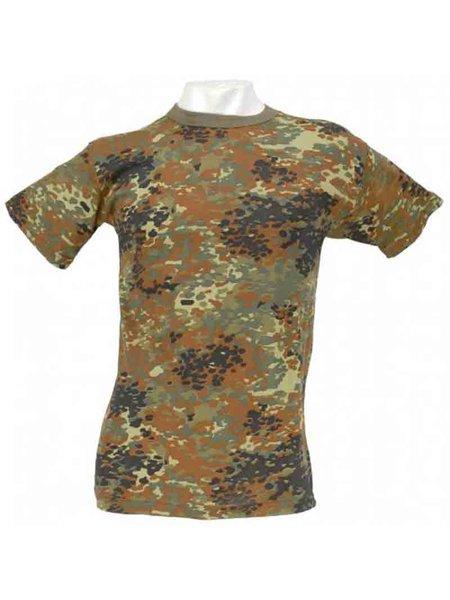 12677c56af6167 T-Shirt halbarm US-Style Flecktarn - Army- Freizeit- Outdoor- Damen ...