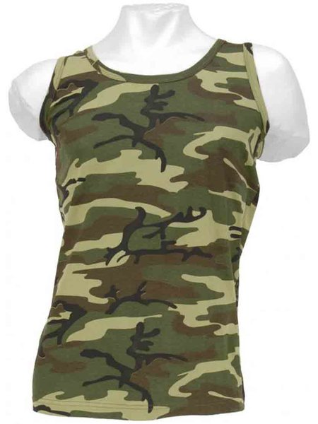 Tank-Top US-Style Woodland XL