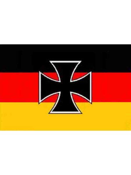 Fahne Deutschland Eisernes Kreuz 90 X 150 Cm Army Freizeit