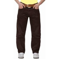 BRANDO Saddle Breitcord carrot pants Albany