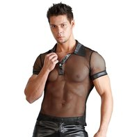 Herren Wetlook Shirt schwarz
