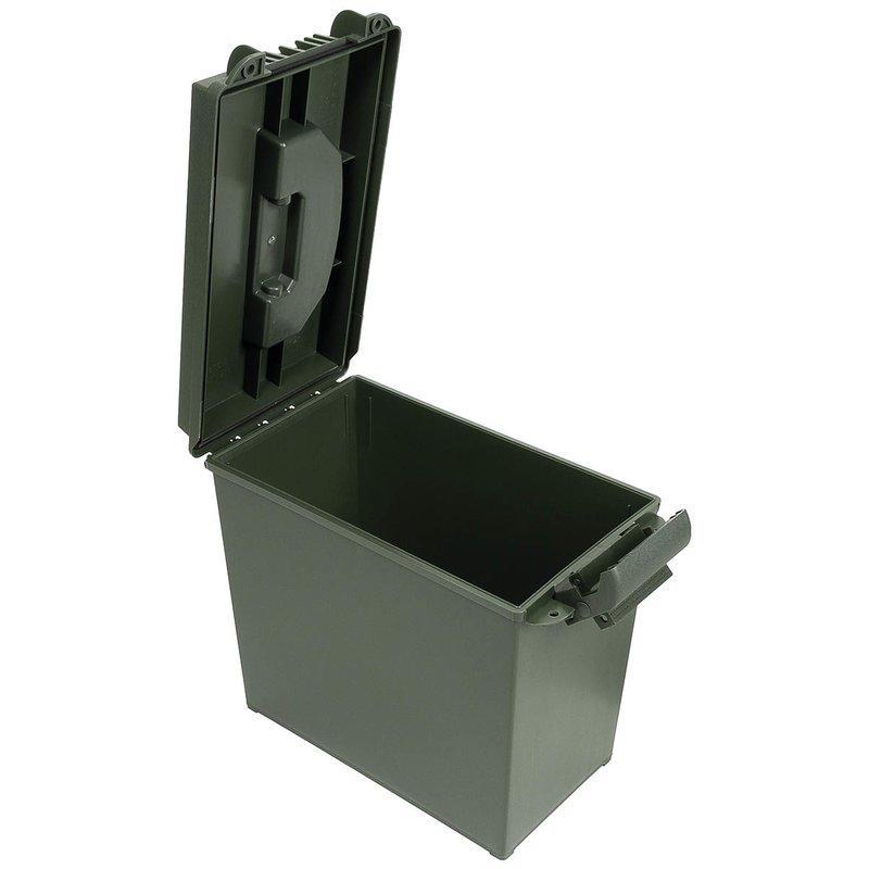 us munitionskiste kunststoff cal 50 mm gro oliv freizeit outdoor armee damen herren. Black Bedroom Furniture Sets. Home Design Ideas