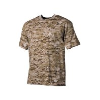US T-Shirt, halbarm, digital - desert, 170g/m² -