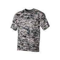 US T-Shirt, halbarm, digital - urban, 170g/m²