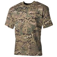 US T-Shirt, halbarm, operation - camo, 170g/m²